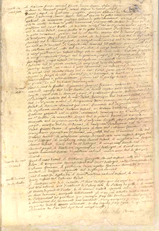Acte de décès, variole 1729 (partie 2)